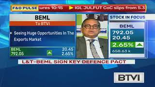 BEML Signs Pact With L&T To Explore Exports For Defence Products 17.07.2018