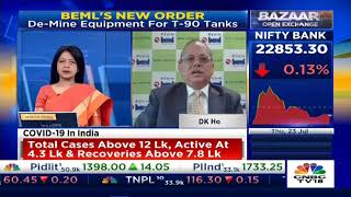 BEML CMD Speaks To CNBC TV 18 – 23.07.2020